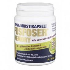 4 x Fosfoser Memory 90 + 30 capsules