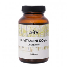 Aito D3 Vitamin 100 mcg Olive oil 150 caps