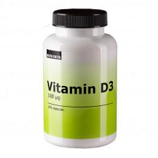 D3 vitamin 100 mcg 200 oil capsules