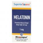 Melatonin 1mg 100tbl Superior Source