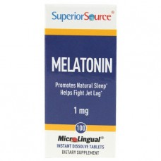 Melatonin 1mg 100tbl Superior Source