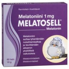 Melatonin 1 mg Melatosell 60 tablets